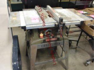 Craftsman 2 7HP 10  table saw
