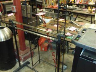 Adj  clothes rack   Decor rack  Approx 23 x10 x65