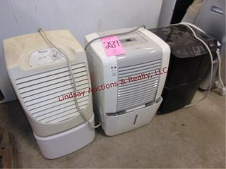 3 humidifiers  Whirlpool  Frigidaire  lG