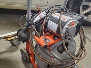 Rigid K 400 Elec  sewer auger snake