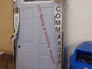 NEW Commercial Metal door 32  x79