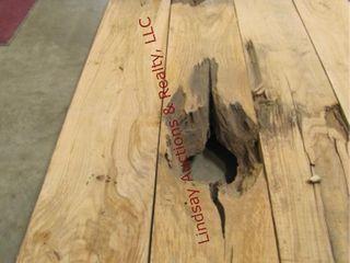 2  Honey locust planks 110 5  x10  x 3  thick