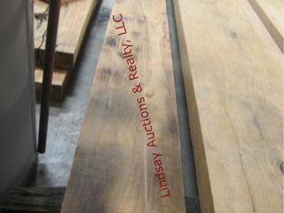 Honey locust plank 105  x 10  x 1 5  thick
