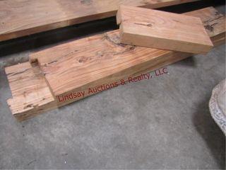3pcs  Honey locust Planks 1  19  x 9 5  x 3