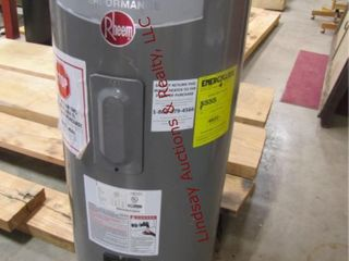 Used Rheem 40gallon elec  water heater  New 2016