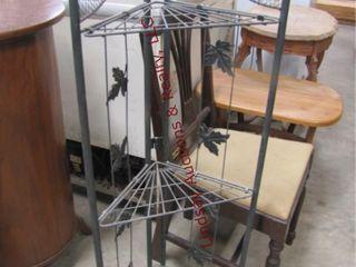 Wire fold worner shelf 16 5  x 8  x 46