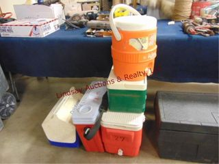 Various style coolers SEE PICS