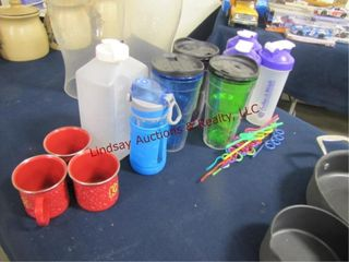 Plastic Cups  shaker cups  other