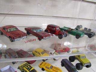 5 hotwheel red line cars  custom eldorado