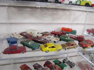 16pc matchbox cars trucks