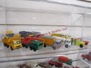 12pc match box cars trucks