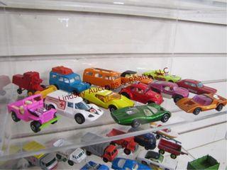 13pc matchbox cars trucks