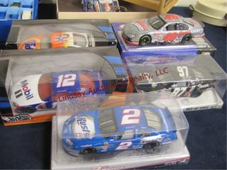 5 nascar 1 24 scale cars
