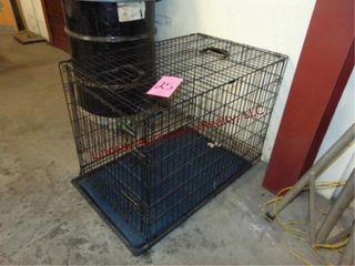 Dog crate  24w x 36d x 27h