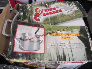 King Kooker multipurpose fryer