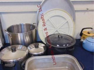 Riverware pots pans SEE PICS