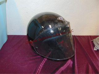Motorcycle helmet size l w  face shield