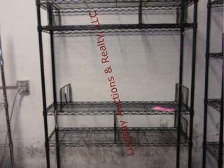 1 Metal rack 48  x 14  x 75