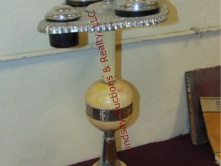 Vintage electric ashtray smoke stand
