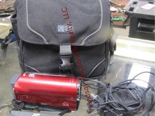 JVC Everio digital camcorder w  case