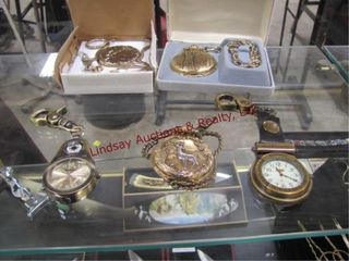5 pocket watches