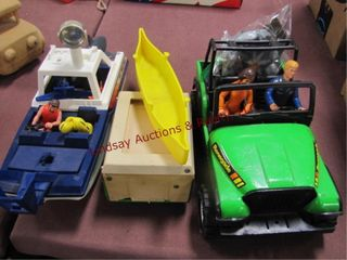Group kids toys