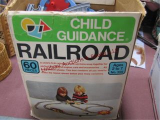 Child s guidance railroad  may not be complete