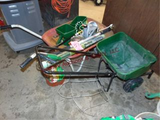 lawn Group  seeders  wheel barrow   other SEE PICS
