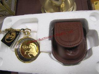 NEW Franklin mint precision pocket watch  1877
