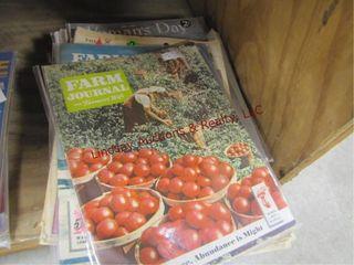1 lot of magazines  Family Circle  Farm Journal