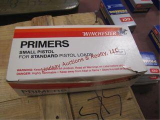 1 box 800 small pistol primers