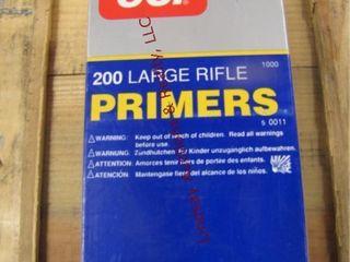 1 box 1000 large rifle primers