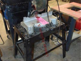 Craftsman 10  compound miter saw on stand