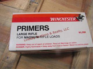 1 box 1000 large rifle magnum primers