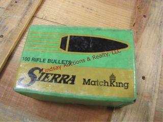 1 box 100 30cal bullets
