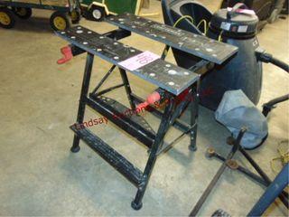 Craftsman foldable worktable 30  wide