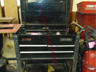 Craftsman tool box on whls WITH CONTENTS 34x21x36
