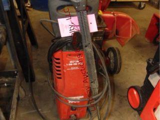 Powerwasher 1600 w  gun   hose