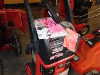 Cleanforce Powerwasher 1800 w  gun No Hose