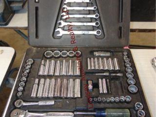 Craftsman socket wrench set  NOT Complete
