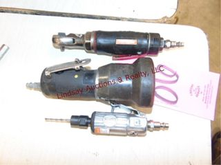 3pcs  Craftsman air ratchet  Craftsman grinder