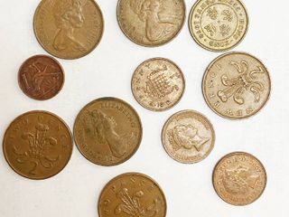 Big lot of Foreign Coins