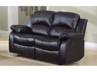 Classic Oversize 2 Seat Bonded leather Recliner  INCOMPlETE ITEM