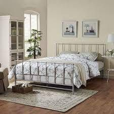 The Gray Barn Possom Steel Estate Bed King Cali King Size