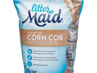 litterMaid Premium Corn Cob litter