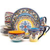 Colorful Dinnerware Set