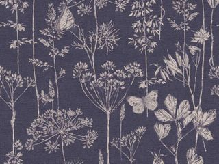 Arthouse Meadow Floral Fabric Strippable Wallpaper