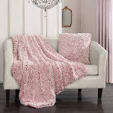 Chic Home Design lambs Hill Super Soft Throw  amp  Pillow