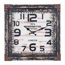 Yosemite Home Decor Time Track Wall Clock