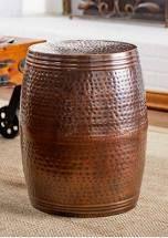 Modern Copper Barrel